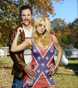 Redneck couple